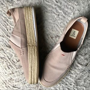 Blush Colored Slip Ons